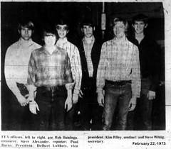 Kim Riley, FFA Sentinel, Monticello, IL HS, 1973-02-22 (RLWisegarver) Tags: piatt county history monticello illinois usa il