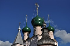 cupulas en el kremlin-Rostov veliki (jordi doria 140) Tags: rusia1 rusia russia kremlin rostovveliki