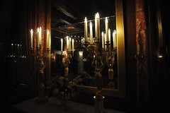 Candles at the Royal Palace Amsterdam (Marwanhaddad) Tags: candle light furniture reflection mirror