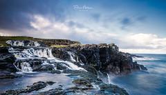 Dunseverick-Falls- (deanallanphotography) Tags: water waterfall landscape cascade ireland ngc