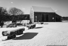 Bourne Farm (mhoffman1) Tags: bournefarm capecod falmouth sonyalpha a7riii blackandwhite farm monochrome snow winter massachusetts unitedstates us