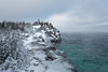 Edge of the Lake (Aymeric Gouin) Tags: canada ontario brucepeninsula bruce peninsula peninsule lake huron lac snow neige winter hiver white blanc water hiking nature landscape paysage paisaje landschaft travel voyage fujifilm xt2 aymgo aymericgouin