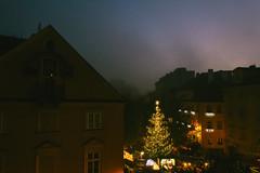 our small christmas in Prague (Yuliya Bahr) Tags: christmas xmas prague evening night silentnight christmastree garland lights grain star town city czechrepublic paarshootinginprag hochzeitsshootinginprag hochzeitsfotografprag deutschsprachigerfotografprag houses windows christmasmarket weihnachtsmarkt weihnachten indie film
