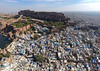 Aerial View Of Blue City Jodhpur, Rajasthan. (nimitnigam) Tags: jodhpur rajasthan india aerial drone dronestagram drones dji spark top blue city cityscape travel travels travelindia traveldiaries traveller travelling travellingismyjob indiatravel stock image images wallpaper wallpapers background photo photography photos photographs photograph photographer photographers nimit nigam street bird landscape landscapes mehrangarh fort monument monuments architecture lake lakes mountain mountains nature sky