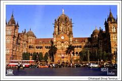 postcard - from Tremotina, Germany 1 (Jassy-50) Tags: postcard postcrossing india mumbai chhatrapatishivajiterminus victoriaterminus railwaystation unescoworldheritagesite unescoworldheritage unesco worldheritagesite worldheritage whs