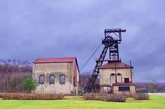 64 Forbach décembre 2017 le Musée de la Mine à Petite Rosselle (paspog) Tags: forbach petiterosselle muséedelamine mine charbon moselle lorraine france décembre 2017 chevalet puits