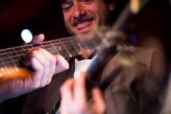 Wild Card (Shell Daruwala) Tags: jazz ronniescotts london gig gigs music live doubleexposure guitar guitarist fujifilm xpro1 colour
