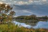 Carver Sunset m7s (Greg Riekens) Tags: autumn usa dock carver sunset landscape nikond500 reflection clouds midwest carverparkreserve lake fall victoria minnesota nikkor