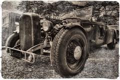 Old School (Thunder1203) Tags: unlimitedphotos yabbadabbadoo blackandwhite bnw hdr monochrome canon classiccars customcars ratrod hotrod