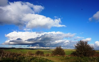 Clouds over Cissbury Ring 2