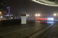 Fog (Zorro1968) Tags: fog yvr vancouver photos604 canada150 canadaplace canada travel tourism night sign myportcity