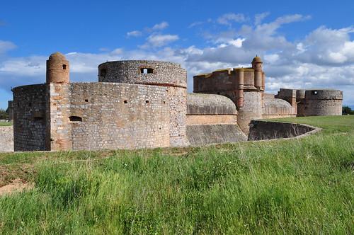 Forteresse (XVe-XVIe), Salses, Corbières maritimes,   Roussillon, Occitanie, France.