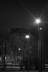 Nightlight (bian.hag) Tags: night street light car house canon canonet