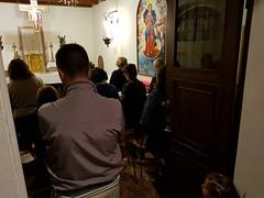 """28.10.2017 Anniversario della fondazione della parrocchia,dopo la Messa e la cena  il Rosario alla madonna che scioglie i nodi-1 • <a style=""""font-size:0.8em;"""" href=""""http://www.flickr.com/photos/82334474@N06/38234455115/"""" target=""""_blank"""">View on Flickr</a>"""