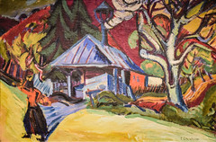 Ernst Ludwig Kirchner - Sawmill in Königstein, 1916 at New Orleans Museum of Art - New Orleans LA (mbell1975) Tags: neworleans louisiana unitedstates us ernst ludwig kirchner sawmill königstein 1916 new orleans museum art la noma museo musée musee muzeum museu musum müze museet finearts fine arts gallery gallerie beauxarts beaux galleria painting expression expressionist expressionism german deutsch
