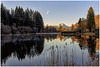 Loch Ard Moon (Giovanni Giannandrea) Tags: lochard benlomond scotland landscape scottish freshwater sirwalterscott ducharycastle waning gibbious