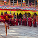 Buddhist Monks Dancing