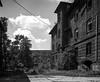Ostrava, Czech Republic. (wojszyca) Tags: mamiya rz67 6x7 120 mediumformat 75mm shift adox cms 20 adotech iii 111 gossen lunaprosbc epson v800 urban decay brick house ruin abandoned ostrava přednádražní