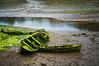 _00Z1912 (zalo_astur) Tags: bote barca musgo varado deterioro ribadesella maritima fango abandono pesca