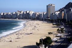 Copacabana Beach (Jasardpu) Tags: rio brasil brazil travel copacabana beach janeiro