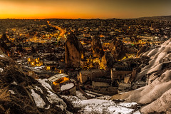 Another (BeNowMeHere) Tags: ifttt 500px landscape winter color travel mountain valley cliff hill colorful kapadokya nightscape extreme terrain rock strata nature sky sunset cappadocia turkey goreme another benowmehere