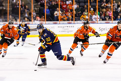 "Kansas City Mavericks vs. Colorado Eagles, December 16, 2017, Silverstein Eye Centers Arena, Independence, Missouri.  Photo: © John Howe / Howe Creative Photography, all rights reserved 2017. • <a style=""font-size:0.8em;"" href=""http://www.flickr.com/photos/134016632@N02/38428181524/"" target=""_blank"">View on Flickr</a>"