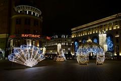 Décorations du Nouvel An (moscouvite) Tags: heleneantonuk moscou lumière lhiver sonydscrx100m2 fete fabuleuseenfêtesf
