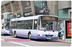 FIRST GLASGOW 61601 SF51YAH (SCOTTISH BUS ARCHIVES) Tags: sf51yah volvob10ble wright firstglasgow sv636