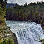 The Rushing Waters of the Kicking Horse River Over Wapta Falls (Yoho National Park) thumbnail