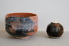 A couple of pieces in our tea ceremony collection (Rekishi no Tabi) Tags: teaceremony japaneseteaceremonyutensils sado chado chanoyu chaire natsume chawan japaneseceramics japan fujifilm xpro2