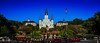 """Panorama view of Saint Louis Cathedral and Jackson Square - New Orleans LA (mbell1975) Tags: neworleans louisiana unitedstates us panorama view saint louis cathedral jackson square new orleans la nola """"la nouvelleorléans"""" nouvelleorléans nueva nuova church kirche iglesia eglise chiesa kerk kirke igreja chapel kapelle kirken kyrkan kathedrale kathedralkirche abbey dom catedral cathédrale dumo kathedraal katedra domkirke pano vista panoramic horse carriages carriage parc park jarden"""