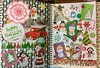 Happy Holidays (stashheap) Tags: snowmen doodle collage smashbook