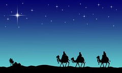 Three wisemans and the star of Bethlehem (OSO MORO) Tags: wiseman three jerusalem israel christ bethlehem judaism hebrew bible history east camel king night star stars jesus background pattern texture winter holiday season seasonal christmas noel card poster illustration celebrate celebration graphic art artistic sky starry shadow silhouette people wise man religion christianity faith believe salvation lithuania