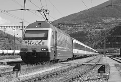 brig - settembre 2017 #6 (train_spotting) Tags: brig briga brigue valais wallis bbcffffs sbb re4600052 valdanniviers slm abb thales nikond7100