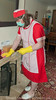 Red Overall & Long Check Tabard 2 07 (Maid Janet) Tags: tabard sissy charwoman domestic housekeeper housewife rubbergloves sissymaid cleaning skivvy cleaner crossdressing putzfrau maid dusting char housekeeping overall housework tranny chores crossdresser housemaid chambermaid scrubber