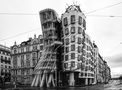 The Dancing House in Prague (WilliamND4) Tags: prague dancinghouse city building architecture nikon d810 modern