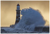 Missed me! (malcbawn) Tags: lighthouse roker wow landscape winter malcbawnphotography pier water storm sunderland canonuk northsea bigwaves wind waves
