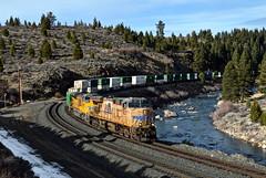 UP ZG2LT-28 (caltrain927) Tags: union pacific railroad loaded intermodal double stack container train ge es44ac ac45ccte c45accte ac gevo emd sd70ace glenshire california ca truckee