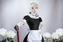 Saber Maid (Alkun(岸蓮)) Tags: saber artoriapendragon fatehollowataraxia fatestaynight fatezero cosplay photographer fategrandorder