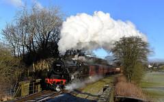 Full Steam Ahead (garstangpost.t21) Tags: 45212 black5 eastlancashirerailway elr
