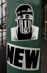 New (TheMachineStops) Tags: 2017 outdoor nyc newyorkcity manhattan 14thstreet sticker urbanart streetart face pasteup retouched