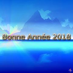 2018 (laurentmorand) Tags: 2018 voeux montagne numérique