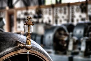 Detail at the Engine Hall - Dortmund, Germany