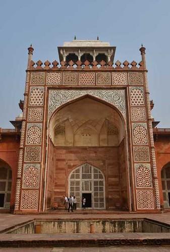 Sikandra - Nagy Akbar mauzoleuma14