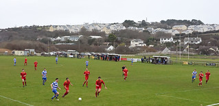 Perranporth 2, Perranwell 1, Cornwall Combination League, December 2017