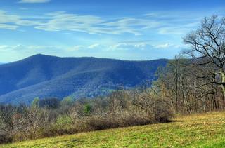 Skyline Drive: Pass Mountain Overlook
