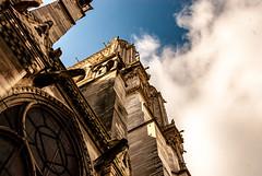 Sun in Paris (amcatena) Tags: sky city sun light clouds old architecture france cathedral luz arquitectura ciudad iglesia igreja chiesa catedral monasterio arquitetura kirche paris