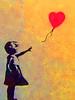 Laugh now Banksy (Marco Braun) Tags: graffiti walart streetart amsterdam 2017 exhibition banksy schwarz black noire weiss white blanche red rot ross rouge girl mädchen fille ballon laughnow gelb yellow jaune hollandnetherlandniederlandpaysbas