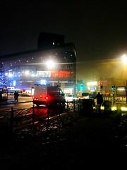 Neige en centre ville de Lille.. (fourmi_7) Tags: magasins euralille neige travail trajet centre lille