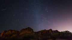 Geminids 2017 (Mike Olbinski Photography) Tags: 20171213 sonya7riii arizona canon1124mmf4 geminid milkywaygalaxy mountains nighttime saltriver stars superstitions